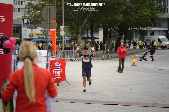 Stavanger maratón 2015 - FULL M v cieli