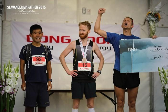 Stavanger maratón 2015 víťazi