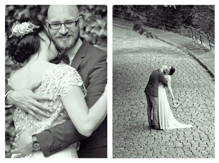 Svadba Slavka - Matej, čiernobiele