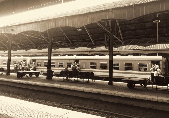 Srí Lanka, železnica. Kandy.