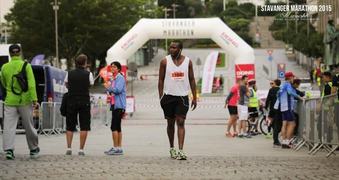 Stavanger maratón 2015 - pred štartom