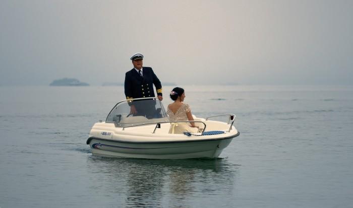 Svadba Slavka - Matej, čln
