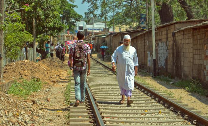 Sri Lanka, India, Pešia zóna.