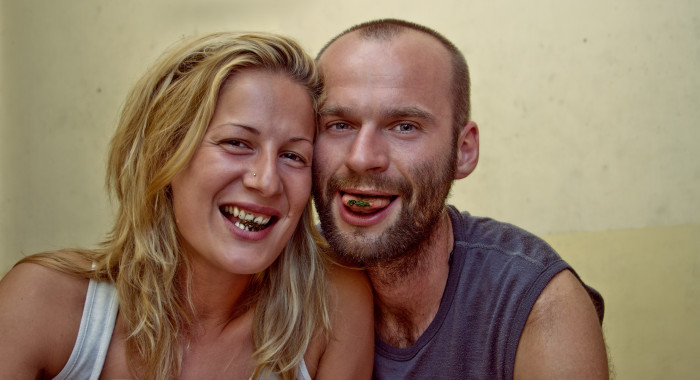 Betel, Srí Lanka - Akcia rudé zuby