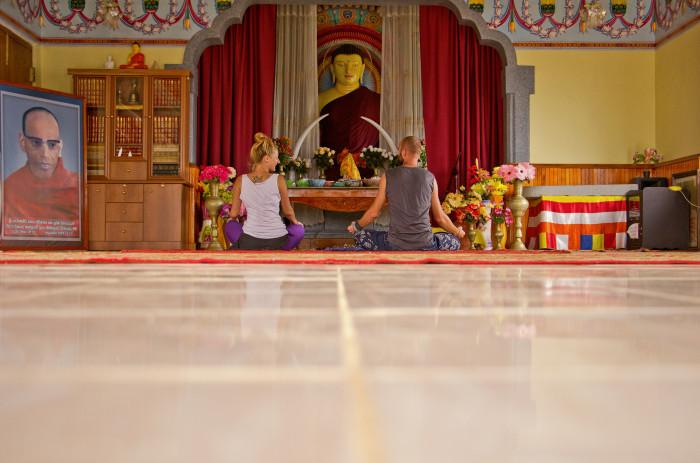 Srí Lanka - meditácia