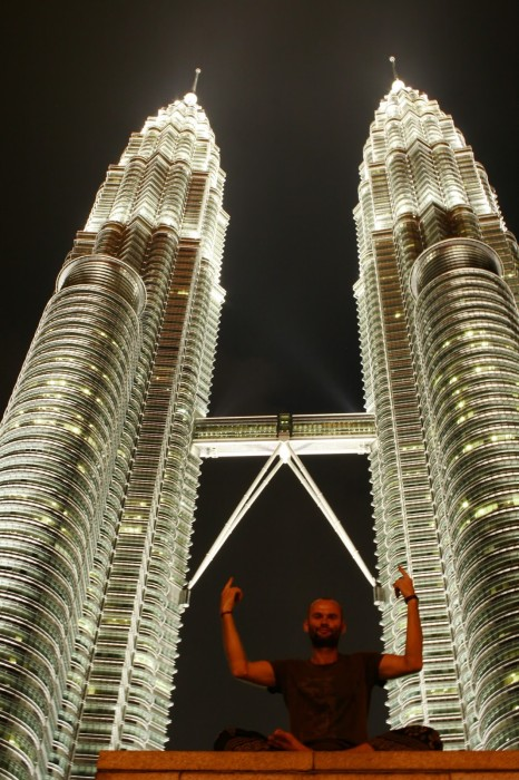 Twin towers v KL.