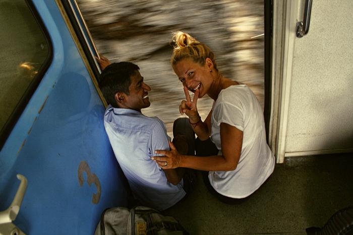 Sri lanka. vlak.