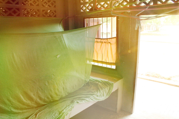 spalna v Suan Mokkh