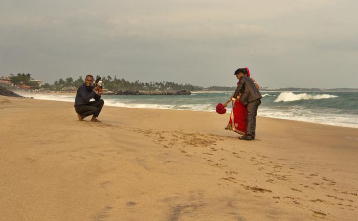 svadba na plazi Indickeho oceanu.