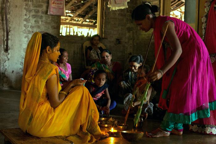 U Nayana - turmeric rituál