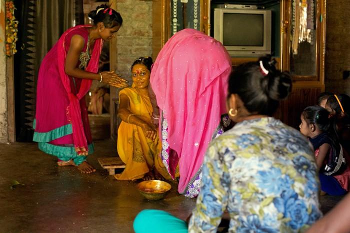U Nayana - rituál turmeric powder