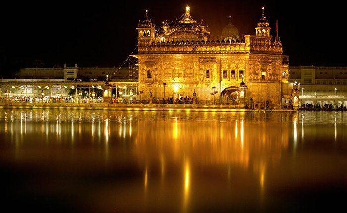 Zlatý chrám v Amritsare
