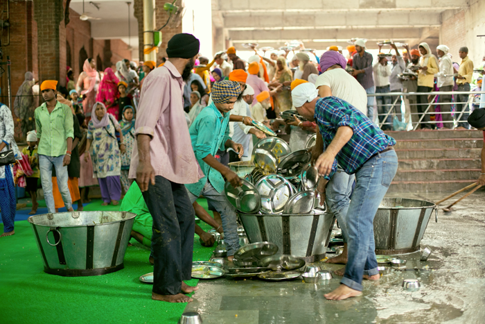 upratovanie, amritsar, olden gtemple