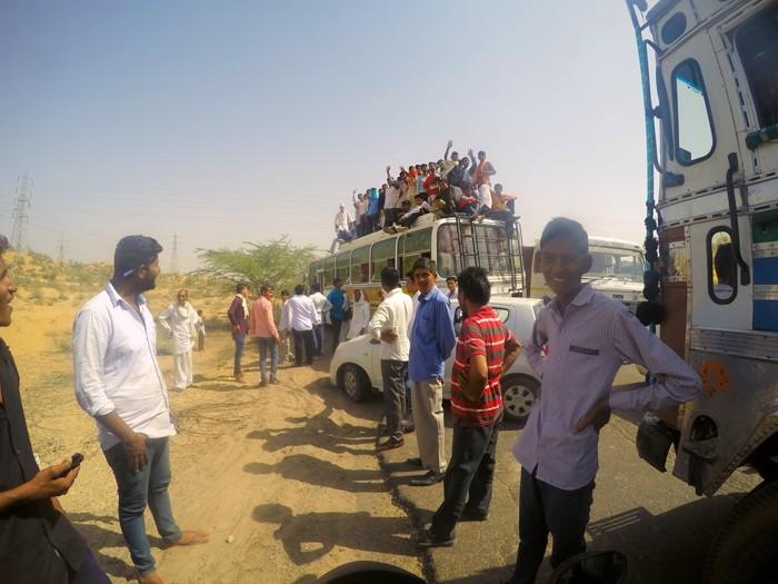 cesta po rajastane, India