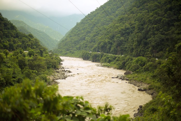 India, cestou z Manali