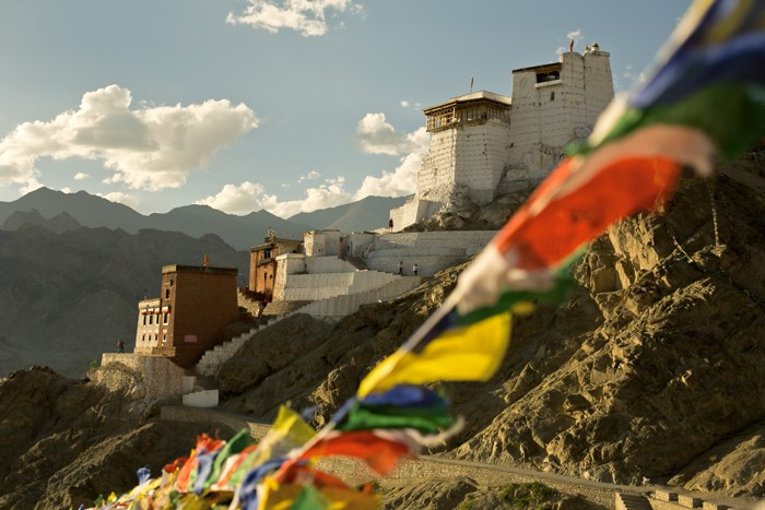 Tsemo gompa, Leh, kráľovstvo Ladakh, India, SveT