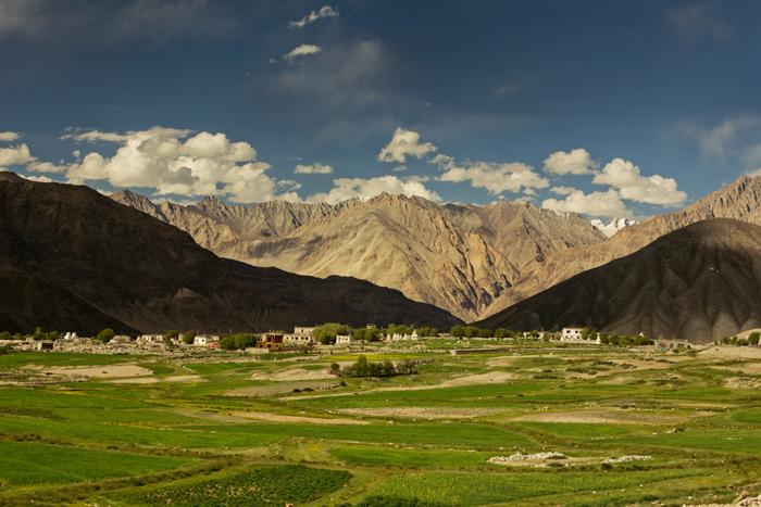 Diskit - dedina v Ladakhu