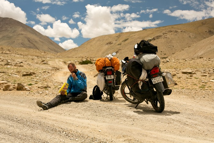 Jazero Tso Moriri, Ladakh, India