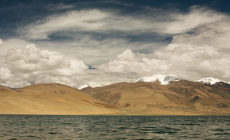 Jazero Tso Moriri, Ladakh - India, World