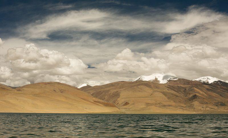 Jazero Tso Moriri, Ladakh - India, World