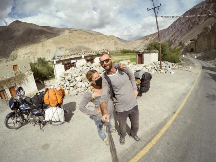 Kesar homestay. Jazero Tso Moriri, Ladakh, India