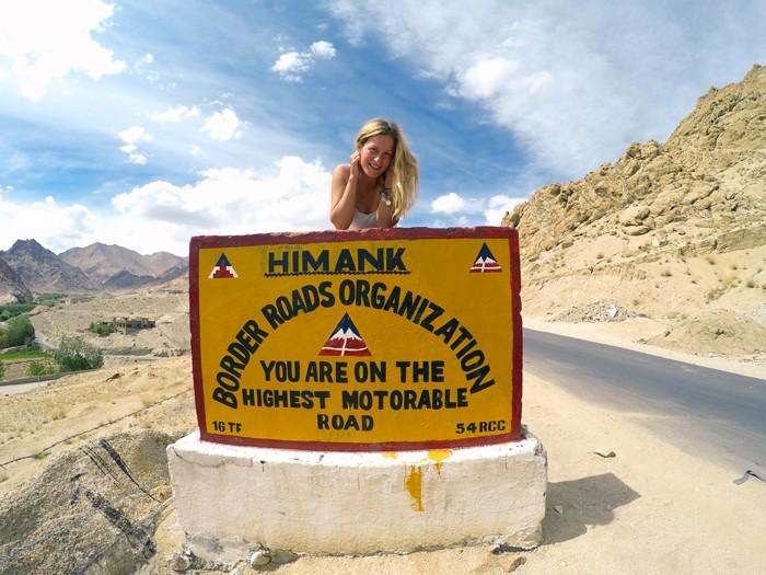 Najvyššia motocesta na svete, Khardong La pass
