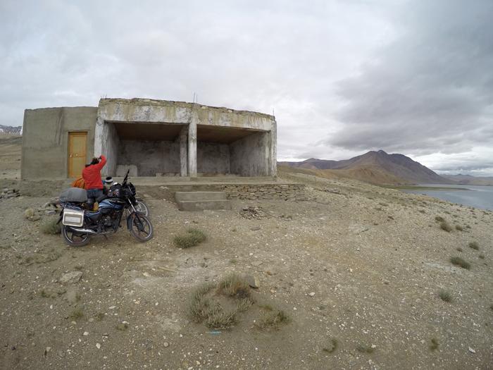 Noclaharen pri jazere Tso Moriri, Ladakh, India