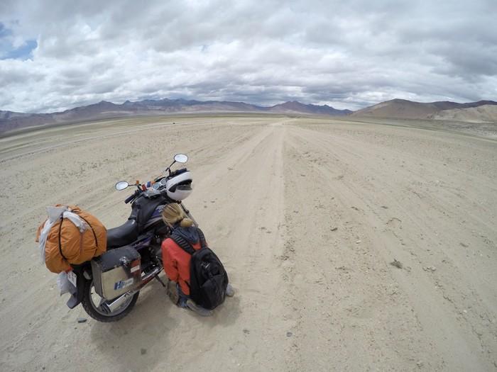 Jazero Tso Kar, Ladakh, India - Koniec sveta.