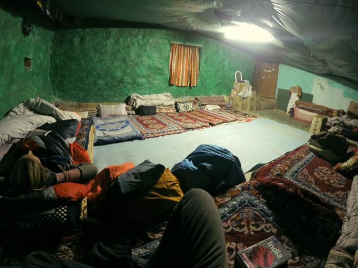 Pang, ubytovanie. Ladakh