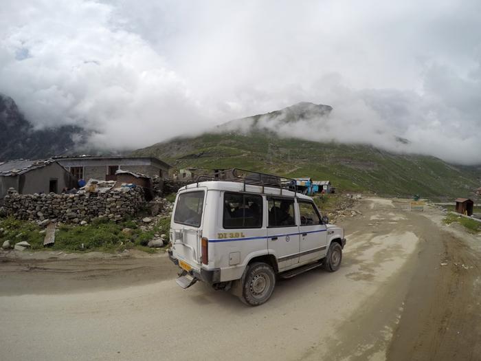 Ladakh. Furt na vrchole.