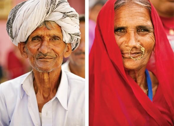 India mnohých tvárí - Divokí ľudia Rajastanu.