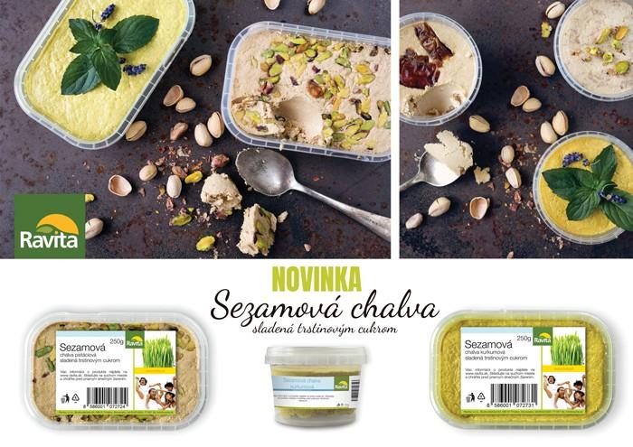 food photography sezamova chalva na tmavom plechu