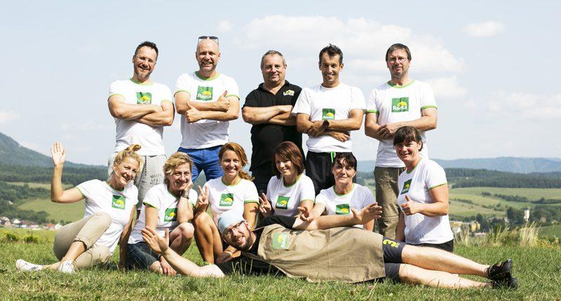 teambuilding Ravita v Pružine
