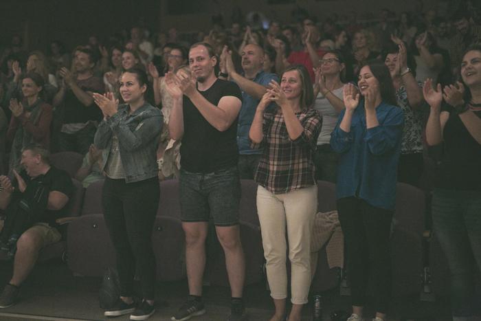 koncert Korben Dallas publikum